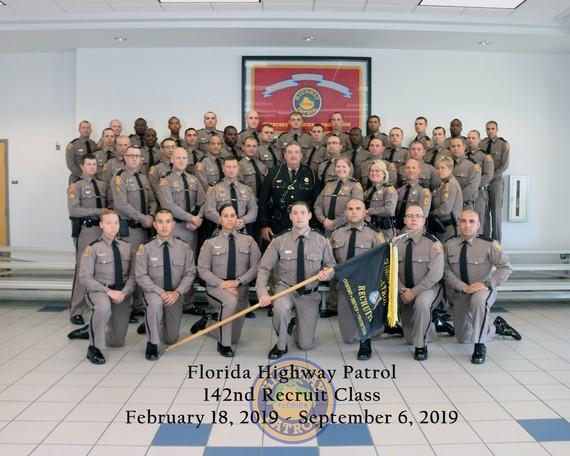 142nd basic recruit class