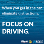 2018 Focus on Driving Social Image: Eliminate Distractions