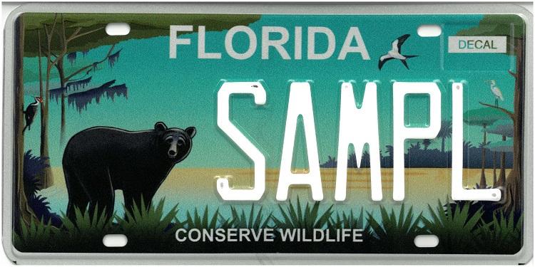 Conserve Wildlife Plate