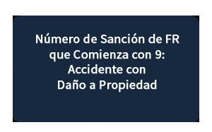 Número de Sanción de FR que Comienza con 9