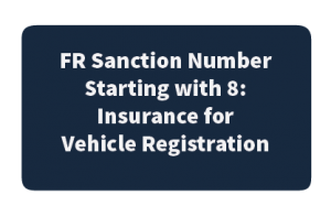 FR Sanction Starting with 8