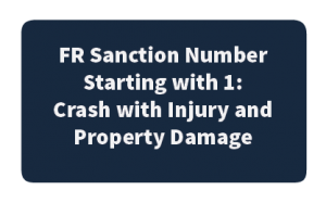 FR Sanction Starting with 1