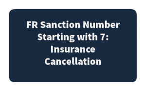 FR Sanction Starting with 7