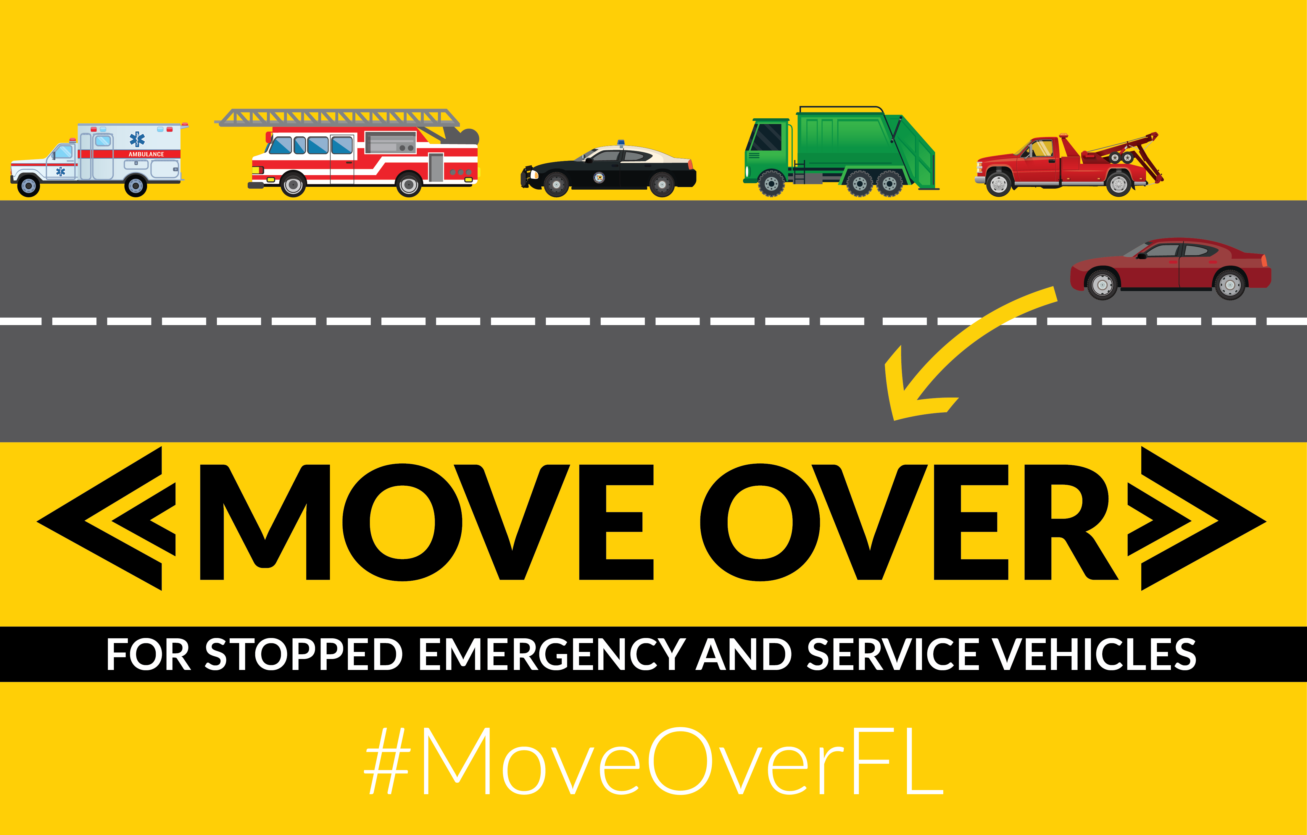 Move over florida florida highway safety and motor for Department of highway safety and motor vehicles tallahassee fl