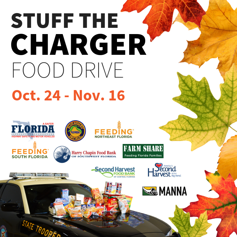 Stuff the Charger Food Drive