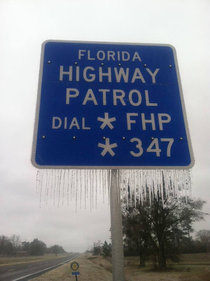 Driving in icy conditions florida highway safety and motor vehicles driving in icy conditions publicscrutiny Image collections