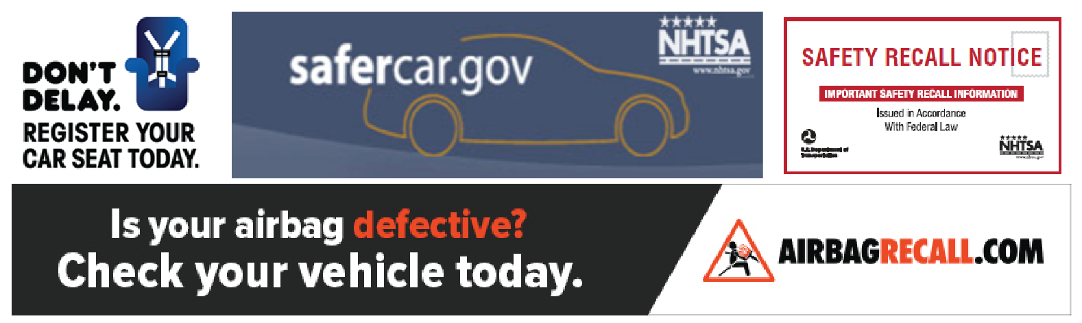 motor vehicle recalls an example of For example, if you borrowed someone else's defective motor vehicle or were injured by a defective vehicle driven by another driver, you may still have a valid claim and should include any and all of the types of defendants discussed above.