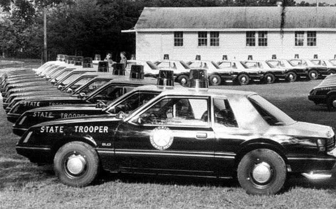 FHP in the 1980s – Florida Department of Highway Safety and