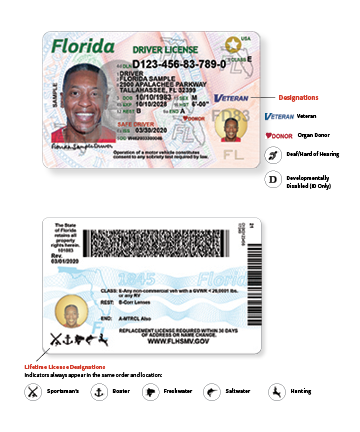 new driver license designations