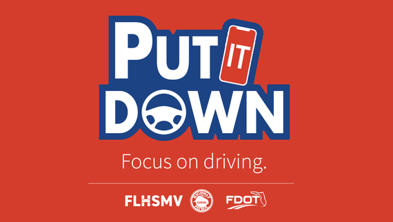 Texting and Driving a Primary Offense Starting July 1 - Florida