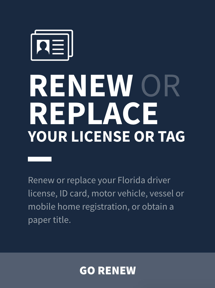 fl motor vehicle registration