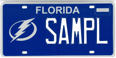 Tampa Bay Lightning - Sample Plate