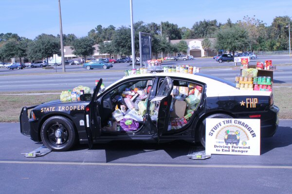 Dhsmv stuffs the chargers to help feed florida families Motor vehicle department florida