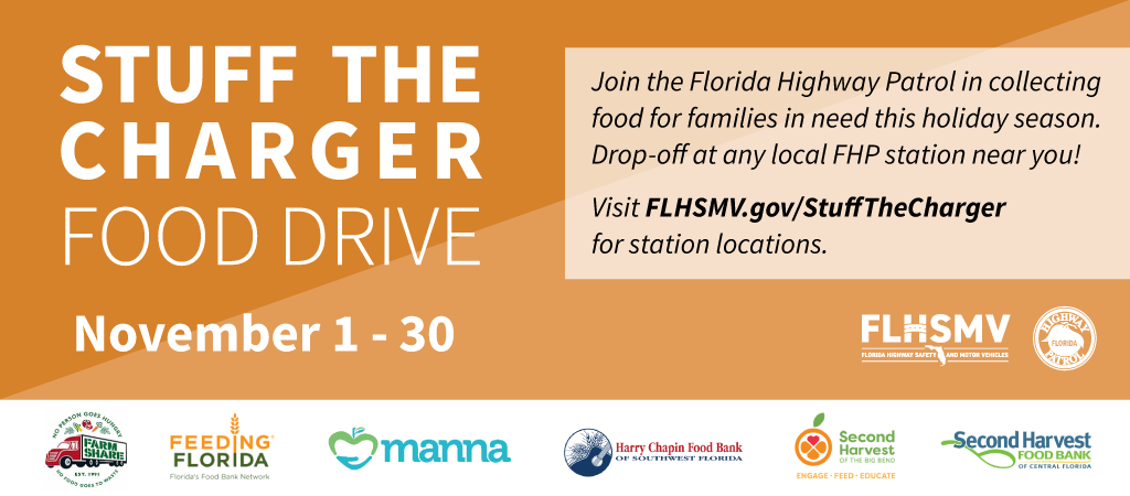 Stuff the Charger - Food Drive